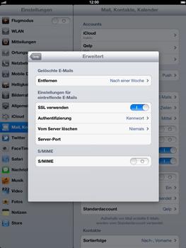 Apple iPad 3 - E-Mail - Konto einrichten - Schritt 20