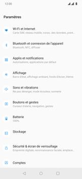 OnePlus 7 Pro - Internet et connexion - Accéder au réseau Wi-Fi - Étape 4
