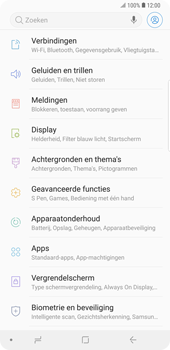 Samsung Galaxy Note9 - apps - apps afsluiten - stap 4