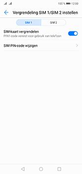 Huawei P20 Lite Dual-SIM (Model ANE-LX1) - Beveiliging en ouderlijk toezicht - Hoe wijzig ik mijn SIM PIN-code - Stap 6