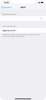 Apple iPhone XS Max - E-mail - configurazione manuale - Fase 17