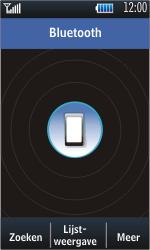 Samsung S5620 Monte - bluetooth - aanzetten - stap 5