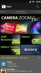 Sony Xperia U - Applications - Setting up the application store - Step 15