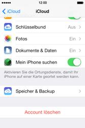 Apple iPhone 4S iOS 7 - Apps - Konfigurieren des Apple iCloud-Dienstes - Schritt 9