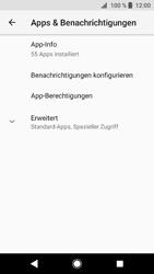 Sony Xperia XZ1 Compact - Apps - Eine App deinstallieren - Schritt 5