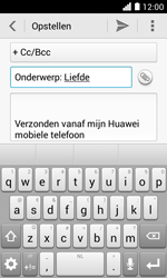 Huawei Ascend Y330 - E-mail - e-mail versturen - Stap 8