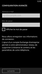 HTC Windows Phone 8X - E-mail - configuration manuelle - Étape 8