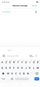 Oppo Reno 2Z - Contact, Appels, SMS/MMS - Envoyer un MMS - Étape 13
