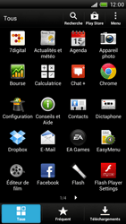 HTC One X Plus - Réseau - Sélection manuelle du réseau - Étape 3