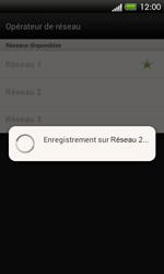 HTC One SV - Réseau - Sélection manuelle du réseau - Étape 9