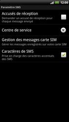 HTC X515m EVO 3D - SMS - configuration manuelle - Étape 6
