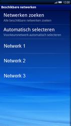 Sony Ericsson Xperia X10 - netwerk en bereik - gebruik in binnen- en buitenland - stap 8