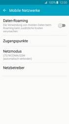 Samsung A510F Galaxy A5 (2016) - Netzwerk - Netzwerkeinstellungen ändern - Schritt 5