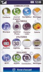 LG GD900 Crystal - E-mail - Configuration manuelle - Étape 3