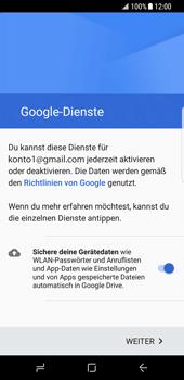 Samsung Galaxy S8 - E-Mail - Konto einrichten (gmail) - 14 / 18
