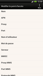 HTC S728e One X Plus - Internet - configuration manuelle - Étape 10