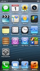 Apple iPhone 5 - Rete - selezione manuale della rete - Fase 9