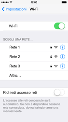 Apple iPhone 5s - WiFi - Configurazione WiFi - Fase 5