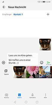 Huawei Mate 10 Pro - Android Pie - MMS - Erstellen und senden - Schritt 19