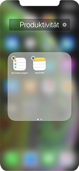 Apple iPhone XS - Startanleitung - Personalisieren der Startseite - Schritt 8