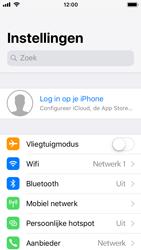 Apple iPhone SE met iOS 11 (Model A1723) - Bellen - WiFi Bellen (VoWiFi) - Stap 3