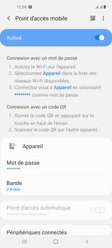 Samsung Galaxy A21s - Internet et connexion - Partager votre connexion en Wi-Fi - Étape 12