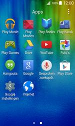 Samsung J100H Galaxy J1 - Applicaties - Account instellen - Stap 3