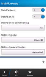 BlackBerry Z10 - Internet - Manuelle Konfiguration - Schritt 7