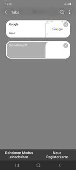 Samsung Galaxy Note 20 5G - Internet und Datenroaming - Verwenden des Internets - Schritt 19