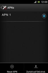 Sony Xperia E - Internet - Manuelle Konfiguration - Schritt 10