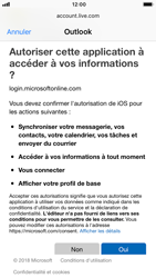 Apple iPhone 7 - iOS 12 - E-mail - 032c. Email wizard - Outlook - Étape 8