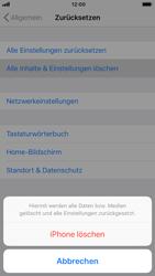 Apple iPhone 8 - iOS 12 - Fehlerbehebung - Handy zurücksetzen - Schritt 8