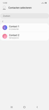 Samsung galaxy-a71-sm-a715f - Contacten en data - Contacten kopiëren van toestel naar SIM - Stap 9