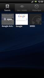 Sony Xperia Ray - Internet - Navigation sur Internet - Étape 10