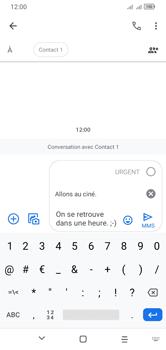 Alcatel 1S (2020) - Contact, Appels, SMS/MMS - Envoyer un MMS - Étape 14