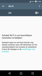 Sony Xperia XA - WiFi - Verbinden met een netwerk - Stap 5