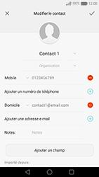 Huawei Nova - Contact, Appels, SMS/MMS - Ajouter un contact - Étape 11