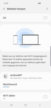 Samsung Galaxy S10 Plus - Internet - Stel mobiele hotspot in - Stap 12