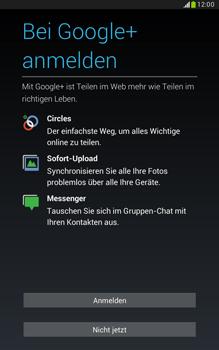 Samsung N5100 Galaxy Note 8-0 - Apps - Konto anlegen und einrichten - Schritt 16