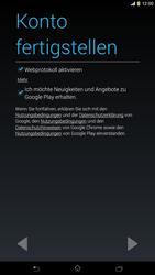 Sony Xperia Z Ultra LTE - Apps - Konto anlegen und einrichten - Schritt 17