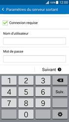 Samsung G530FZ Galaxy Grand Prime - E-mail - Configurer l