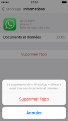 Apple iPhone 5 iOS 10 - Applications - Comment désinstaller une application - Étape 8