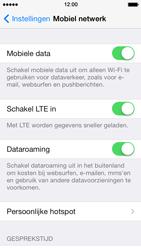 Apple iPhone 5s - Internet - Dataroaming uitschakelen - Stap 4