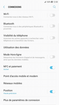 Samsung Galaxy S6 Edge+ - Android Nougat - Bluetooth - connexion Bluetooth - Étape 7