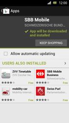 Sony Xperia U - Applications - Installing applications - Step 23