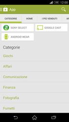 Sony Xperia Z3 - Applicazioni - Installazione delle applicazioni - Fase 6