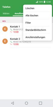 LG Q6 - Anrufe - Anrufe blockieren - 4 / 12