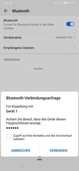 Huawei P30 - Bluetooth - Verbinden von Geräten - Schritt 7