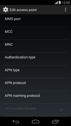 Motorola Moto G - Internet - Manual configuration - Step 14
