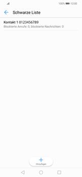 Huawei Mate 20 Lite - Anrufe - Anrufe blockieren - 11 / 12